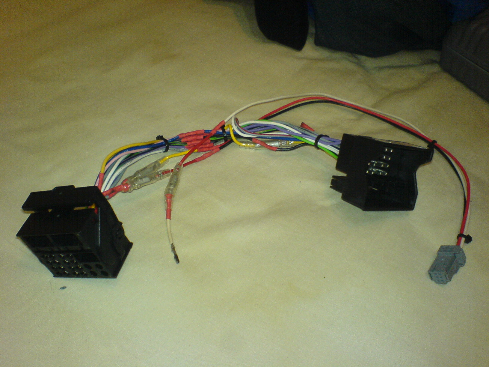 Pinouts Rt4 Wiki Citroen Rd4 Wiring Diagram Adapter To Install In A C4 Made From Parrot